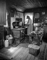 A typical kitchen in the 1800's