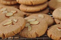 Historic almond and ginger biscuits