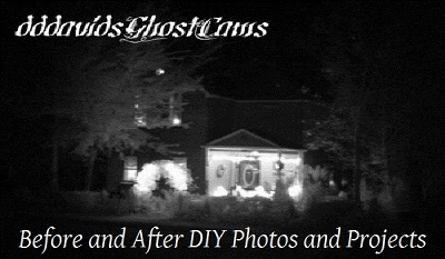 DIY Before and After Photos of Projects in the Haunted House