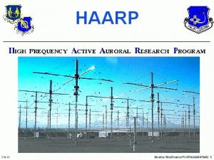 HAARP High Frequency Active Auroral Research Program