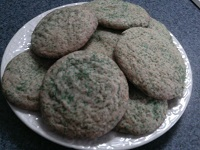 Irish Ginger Snap Cookies