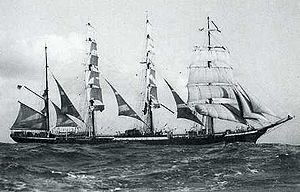 German training vessel Pamir